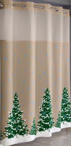 Hookless RBH40MY822 3-Pack Seasonal Shower Curtains