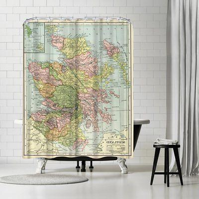 scotland 16x20 shower curtain