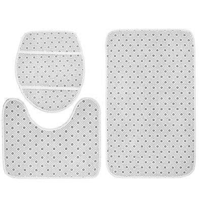 Sea Turtles Non-Slip Bathroom Shower Curtain Toilet Cover MatRug Set