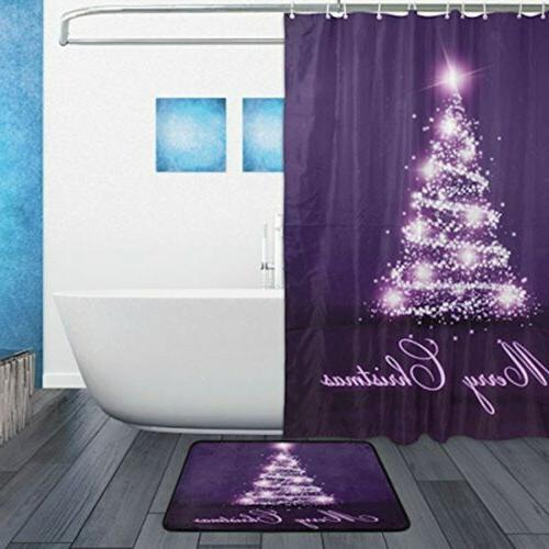 ALAZA Set Christmas 60 X 72 and Mat Set,