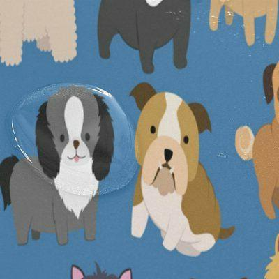 ALAZA Set Cute Animal X 72 Shower Curtain and Mat Set, Lovely