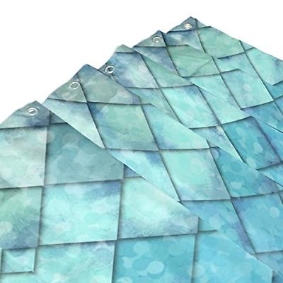ALAZA Ocean Blue Teal Fish Scales