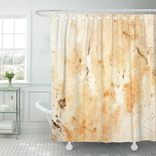 shower curtain beige caffe coffee