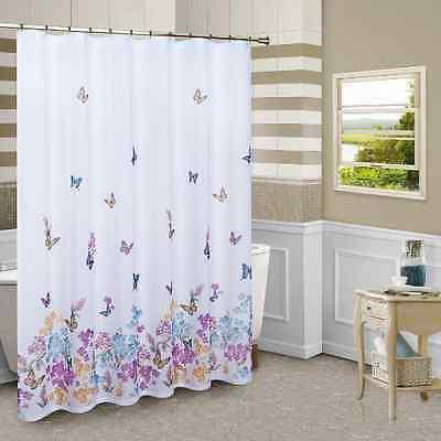 Shower Curtain Butterfly Home Bathroom Kitchen Bath Hot Hote