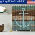 shower curtain fabric waterproof bathroom boat anchor
