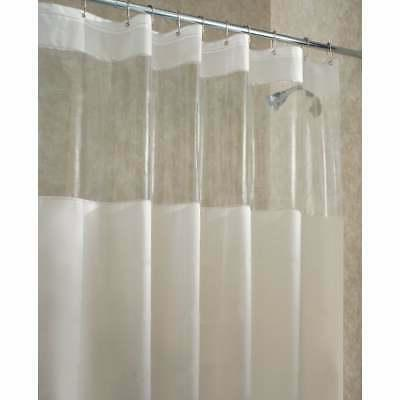 shower curtain frost clear