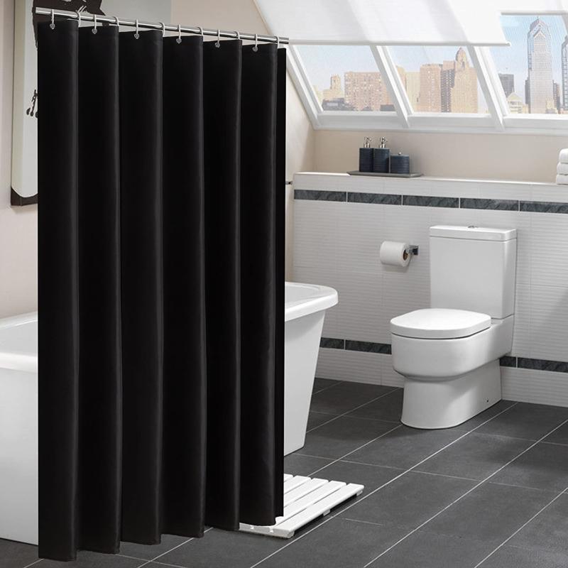 YUUNITY Polyester Bathroom 72x