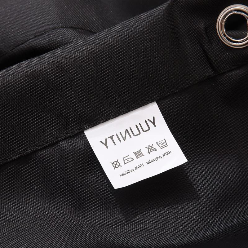 YUUNITY Shower Hooks Polyester Fabric 72x 80