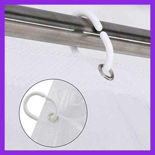 Shower Liner 72 X 8 Touch Pockets Ipad