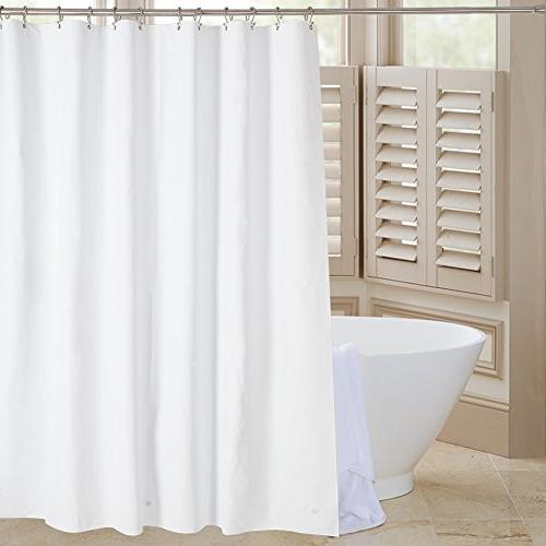 "Amazer 72"" x EVA Thick Bathroom Curtains No with Grommets Holes"