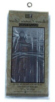 Shower Curtain Liner Super Clear Mildew Resistant Vinyl