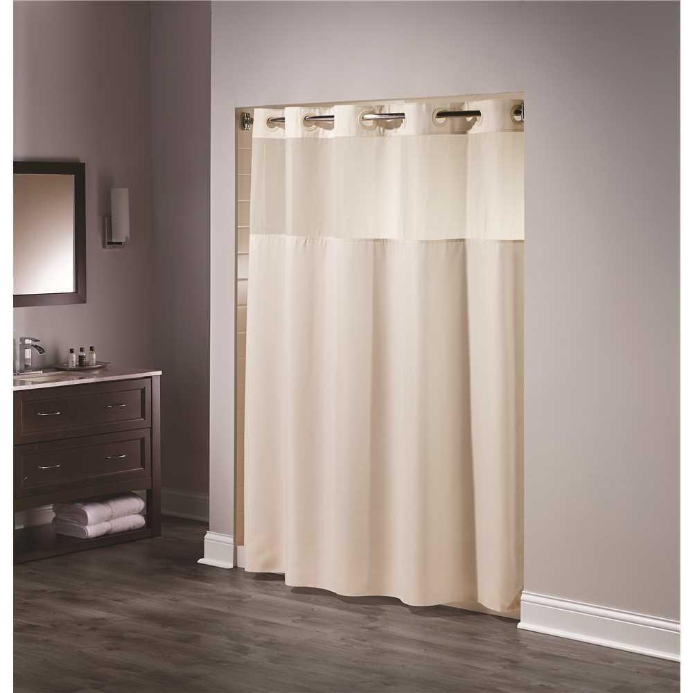 shower curtain mystery beige