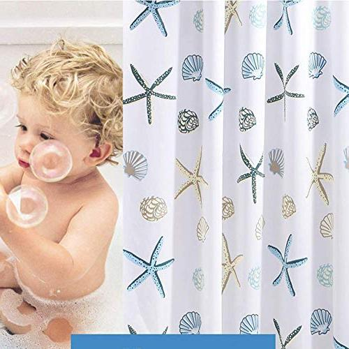 Meiosuns Theme Waterproof Mildew Bathroom Home Shower Curtain Liners with Grommets Curtain