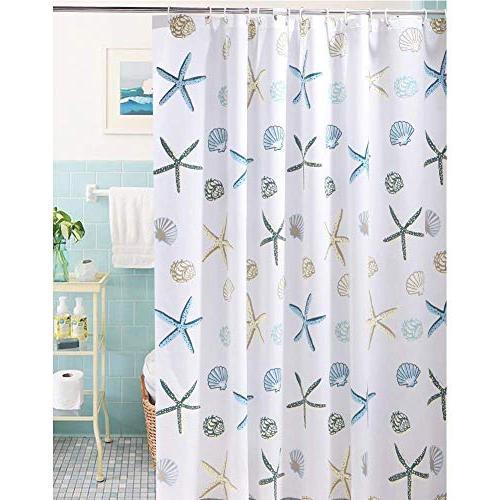 shower curtain ocean theme peva