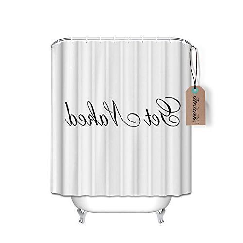 shower curtain script