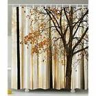 Shower Curtain Sets Fall Trees Print Mom Gift Ideas Polyeste