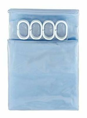 Shower Curtain Ultra 20 Gauge With Hooks Resistant