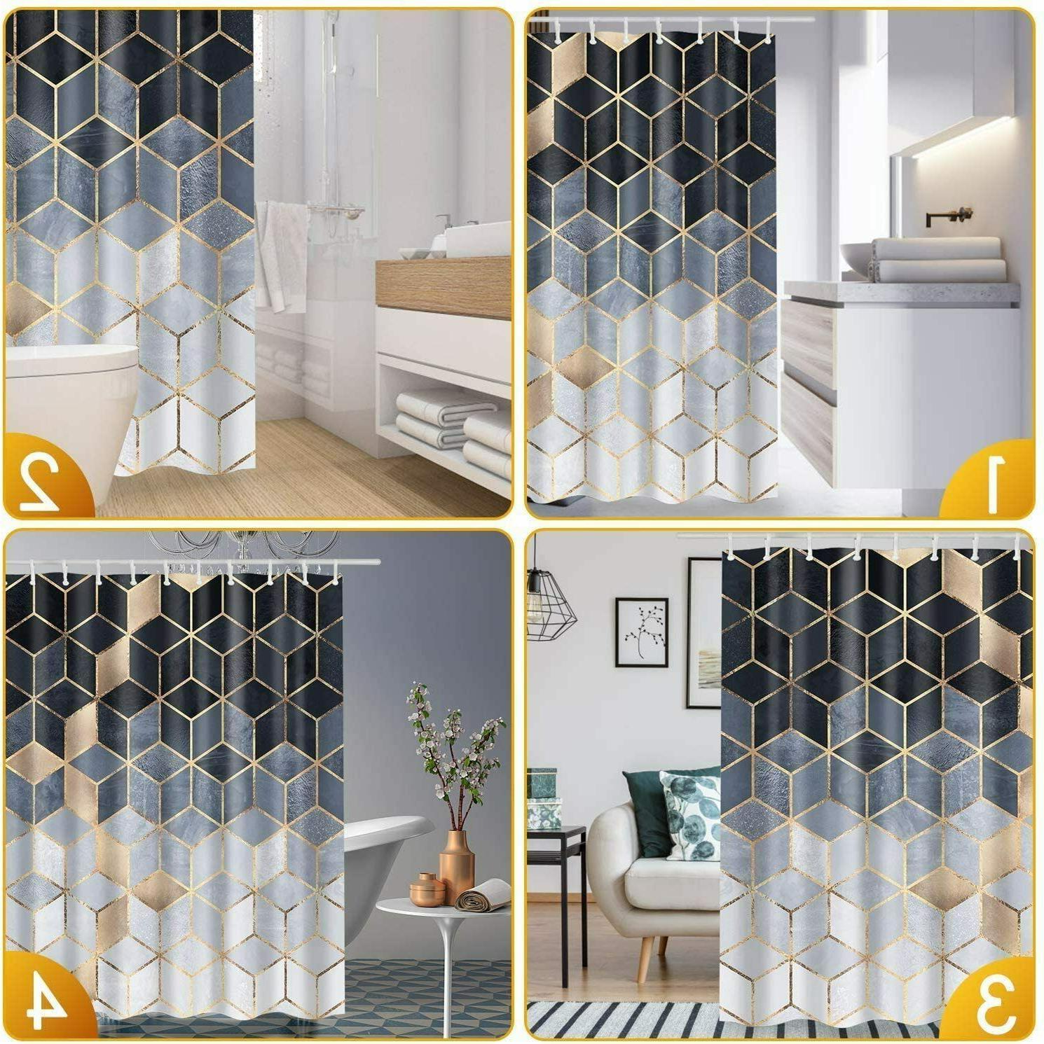Amzdeal Curtain 12 Washable
