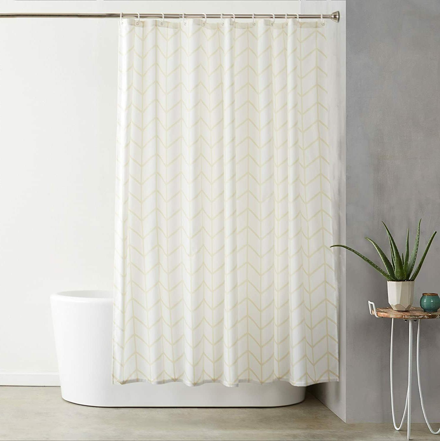 shower curtain with hooks 72 inch natural