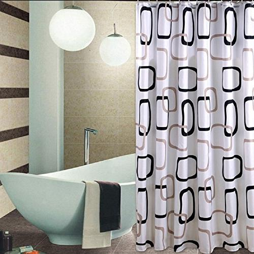 Curtains 92 Inches Long.92 Inches Long Shower Curtain Liner Set With Hooks Rings