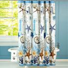Shower Curtains Seashells Rug Bathroom Beach Mats Bath Sea F