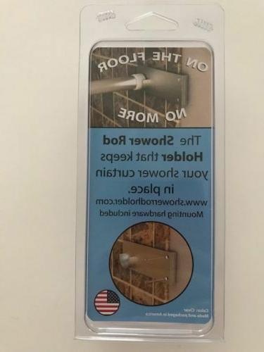 Shower Curtain Support Bracket Tile Bathroom