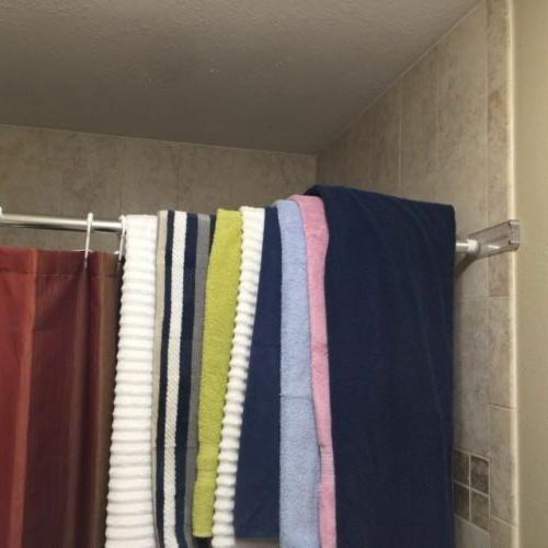 Shower Rod Curtain Rods Bracket