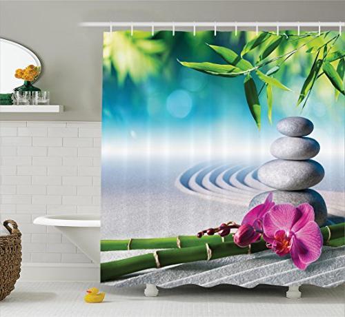 spa decor massage stones zen