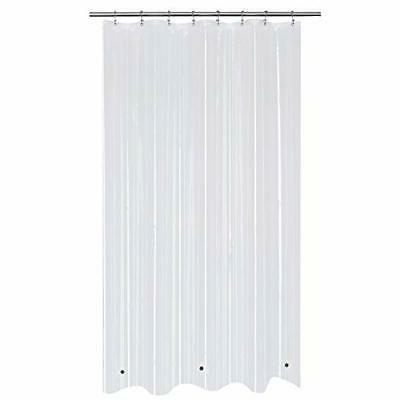 Stall Shower Curtain or Liner with Magnets 48 x 72 inch, Cle