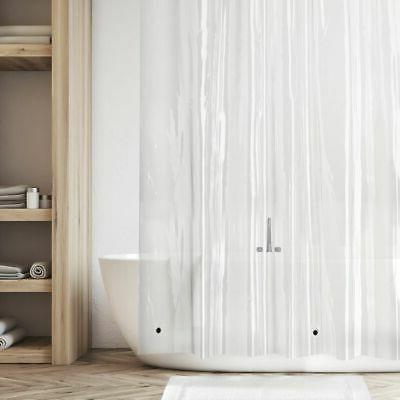 "mDesign LONG Waterproof Vinyl Shower Curtain Liner - 84"" Lon"