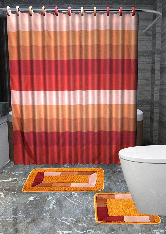 Rugs Shower Curtain Bath