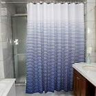 Ufaitheart Stripes Fabric Shower Curtain Stall Bath Curtain