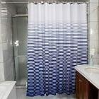 Ufaitheart Stripes Fabric Shower Curtain Stall Bath Curtain