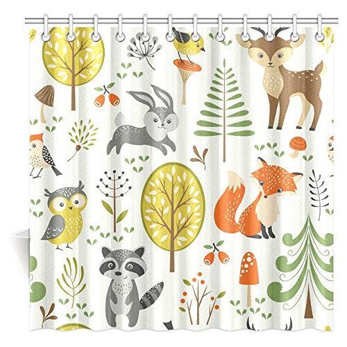 summer forest pattern