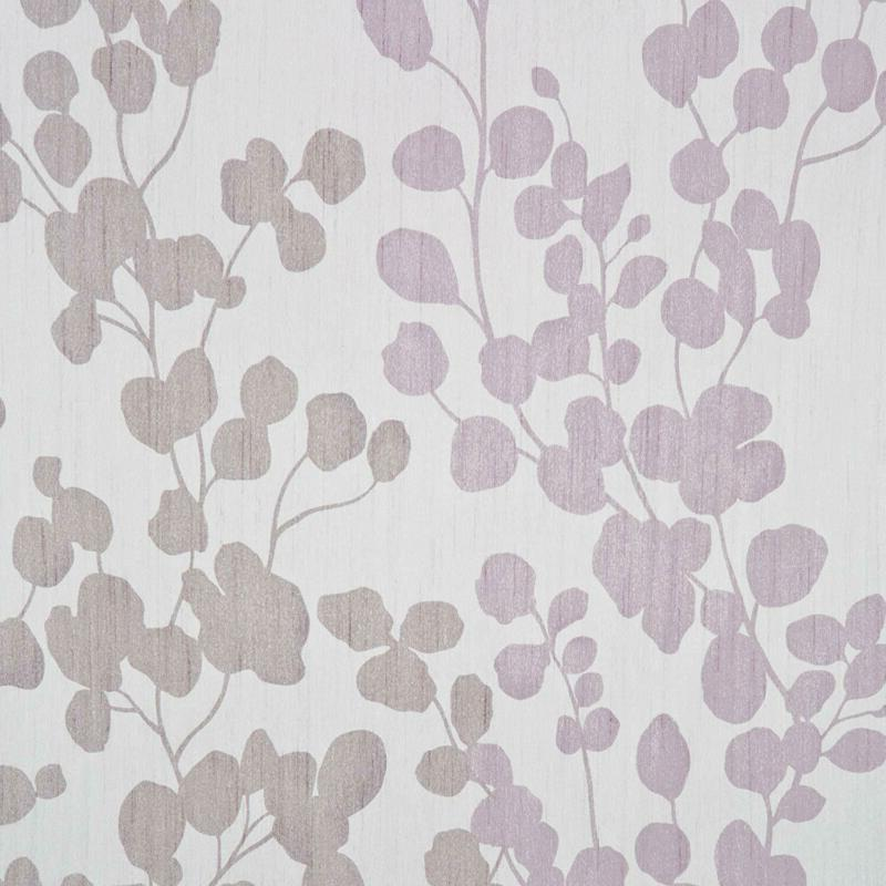Maytex Sylvia Faux Silk Curtain, Purple