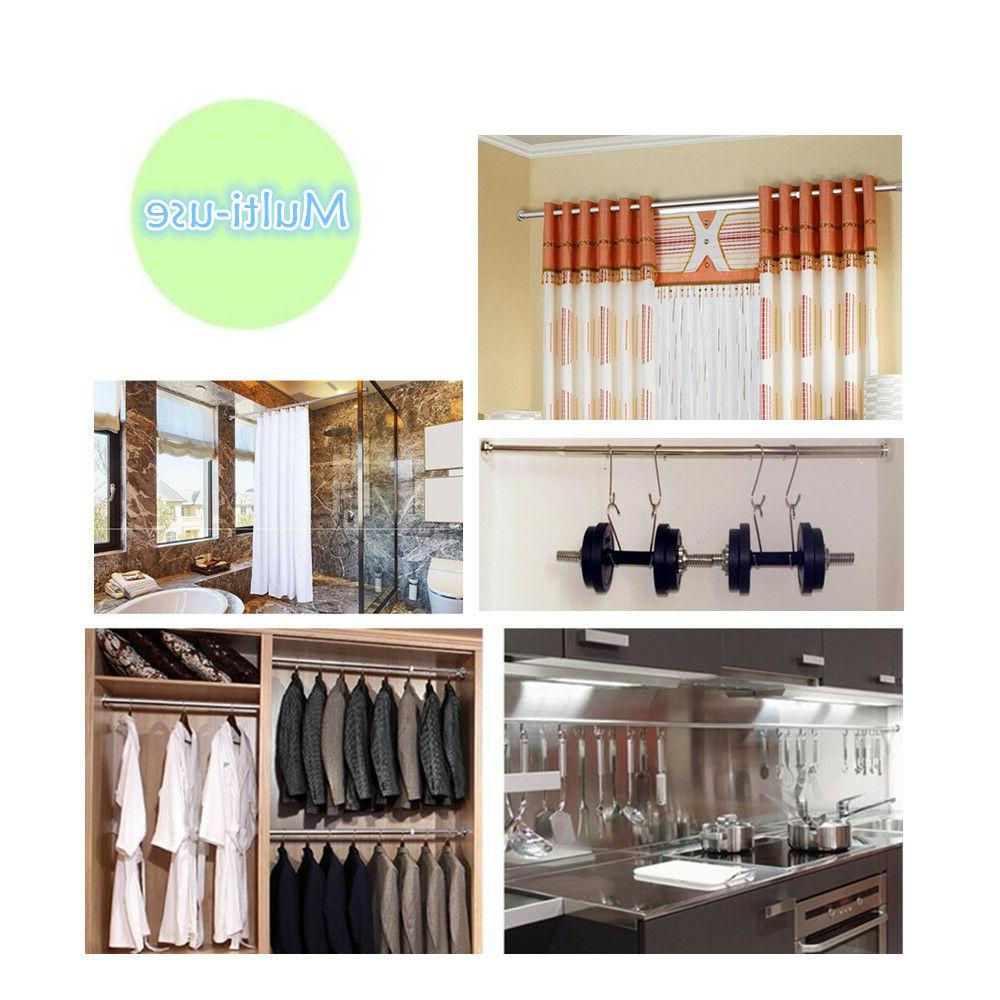 Tension Rod Clothes Rail Hanging