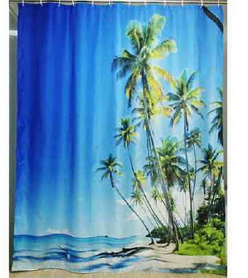 Tropical SHOWER CURTAIN,