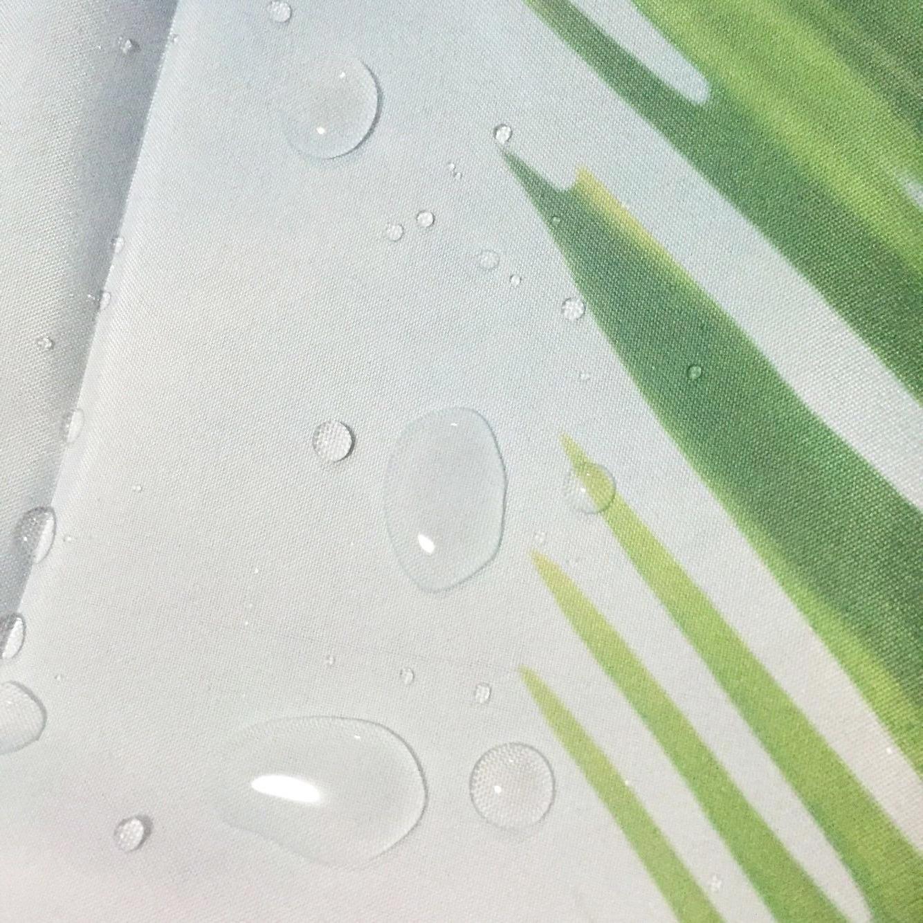 Tropical Graphic Shower Scenic Bath