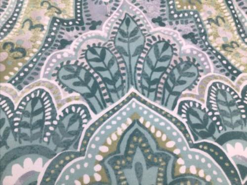 Tahari White Fabric Curtain