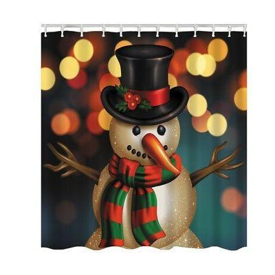 US Christmas Shower Polyester