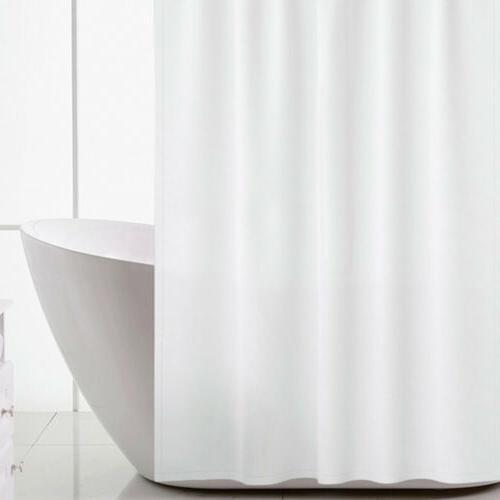US Solid Bathroom Shower Liner Free Hook