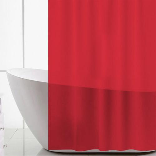 US Solid Shower Curtain Free Hook 180x180cm