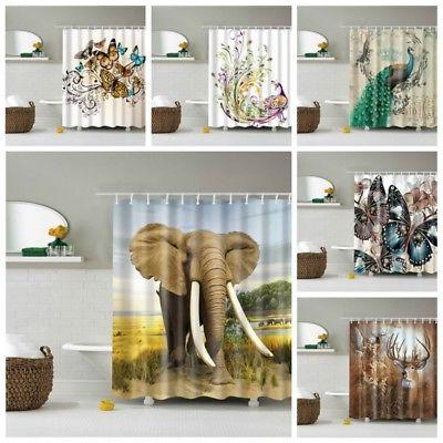 Various Bathroom Curtain Sheer