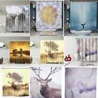 Various Modern Waterproof Bathroom Shower Curtain Panel Shee