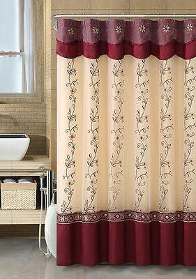VCNY Daphne Sheer & Taffeta Curtain Colors