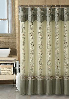 VCNY Daphne & Fabric Shower Curtain - Assorted