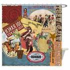 CafePress - Vintage Western Cowgirl Collage - Decorative Fab