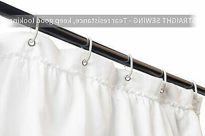 Volens Curtain Fabric/Ruffle for Bathroom,72in