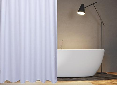 waffle fabric shower curtain polyester