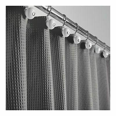 "mDesign Weave Fabric Shower - 72"" Long"